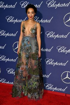Ruth Negga en Valentino au Palm Springs International Film Festival