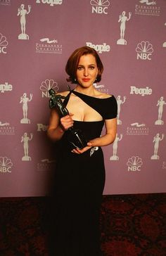 Gillian Anderson at the 1997 Screen Actors Guild Awards