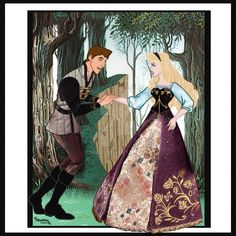 Sleeping Beauty by on DeviantArt Disney Nerd, Disney Marvel, Disney Fan Art, Disney Kunst, Arte Disney, Disney Magic, Disney And More, Disney Love, Disney Family