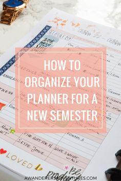 my college planner
