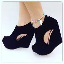 a603dd99cf Encuentra Tacones Plataforma - Zapatos Mujer en Mercado Libre Venezuela.  Descubre la mejor forma de comprar online.