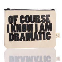 Dramatic Pouch, $16.50, now featured on Fab.