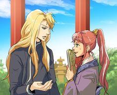 Twelve Kingdoms - Yoko and Keiki