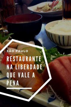 Um restaurante japonês na Liberdade, em São Paulo, que vale a pena.