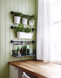 Herbs in the kitchen with Ikea Fintorp