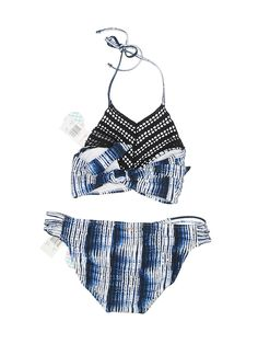 bb0bc8115fc3 Raisins Two Piece Swimsuit: Size 8.00 Blue Women's Swimwear - New With Tags  - $16.99