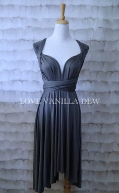 Hey, I found this really awesome Etsy listing at https://www.etsy.com/listing/193386551/bridesmaid-dress-infinity-dress-charcoal