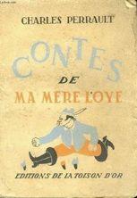 Capa de Contes de Ma Mere L'Oye Os Contos da Mamãe Ganso - Charles Perrault.