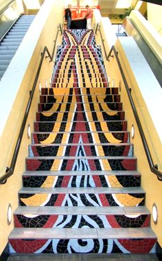 SUMA University Mosaic Staircase Project