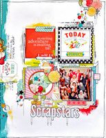 Scrapstars by Emma Trout for Webster's Pages. I used 'Growing up Girl' and 'Our Travels' papers