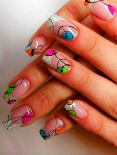 Beautiful nail art designs that are just too cute to resist. It's time to try out something new with your nail art. Nail Art Diy, Easy Nail Art, Cool Nail Art, Get Nails, Fancy Nails, Pretty Nails, Beautiful Nail Designs, Beautiful Nail Art, Nagel Gel