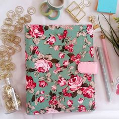 READY STOCK. COVER: ROSSA GREEN Bismillah. MUSLIMA PLANNER 2016 by @kecilmamil. SPECIFICATION: 1. A5 binder with 6 rings 2. Binder material: Front - Cotton Fabric Inside - Leather 3. Language: English & Bahasa 4. Size: A5 5. Content: 168 pages (HVS 100 gram) 6. 2 pages of Islamic Stickers 7. 4 Cute Dividers (Art Carton 260 gram) 8. No public holiday only Eid days. 9. Weight for 1 book: 500 grams. PRICE FOR INSERT BINDER: >> Local: IDR 225000. >> Overseas: USD 22. INSERT ONLY: >> Local: IDR…
