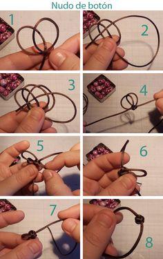 Tutorial para hacer un nudo de botón