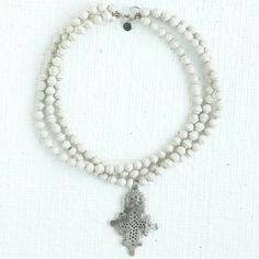 Wisteria - Accessories - Shop by Category - Bags & Accessories -  Ethiopian Cross Necklace - $68.00
