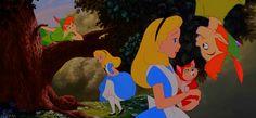 Alice and Peter Pan by xReima.deviantart.com on @deviantART
