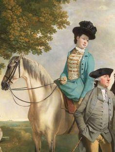The Drummond Family - Joseph Zoffany. Detail.