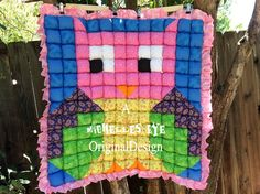 Owl-bubble-quilt-for-your-baby-girl-or-boy