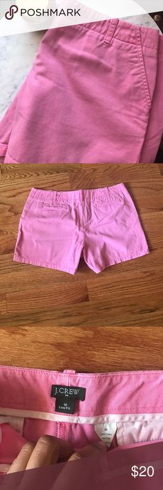 J. Crew Chino Shorts J. Crew Chino Shorts Low-Fit. Bubblegum pink color J. Crew Factory Shorts