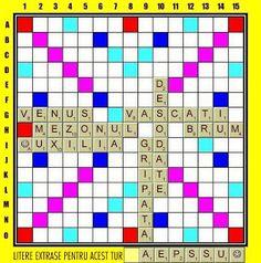PĂTRĂŢICĂ-blog-Petrică-Aidimireanu: SCRABBLE: Partida 11 - Turul 8 Scrabble, Puzzle, Blog, Puzzles, Riddles, Jigsaw Puzzles