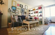 Jacqueline Clair's NYC Studio Tour -- Making the Best of Small Apartment Space