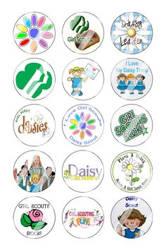 Girl Scouts clip art