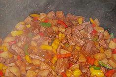 Spanischer Kartoffeltopf 1