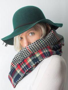 Hat - Holly, Floppy Wool Felt Wide Brimmed Boho Hat -() Bohomonde  - 2