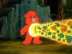 Friend Bear facing the moose from Care Bears Movie 2 Cartoon Profile Pictures, Cartoon Pics, Cartoon Characters, Memes, Morning Cartoon, Bear Theme, 80 Cartoons, Wow Art, Vintage Cartoon