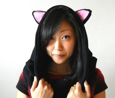 HOW TO: Make a Catastic Kitty-Eared Snood Out of an Old Sweatshirt