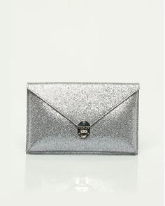 Glitter Envelope Clutch from Le Château.
