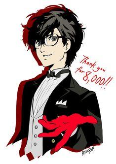 Persona 5 Joker, Persona 4, Anime Glasses Boy, Boys Anime, Ren Amamiya, Desenhos Harry Potter, Akira Kurusu, Super Smash Bros, Cute Art