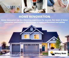 No job is big or small for them. Our skilled and trained team of contractors will work on any given project. We always deliver the best quality results to achieve our client's satisfaction. Call at now. Home Renovation, Military, Mansions, House Styles, Big, Projects, Home Decor, Log Projects, Blue Prints