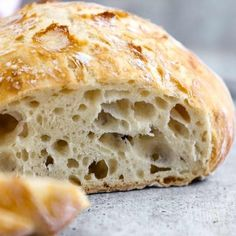 Easy No-Knead Bread - Olga in the Kitchen