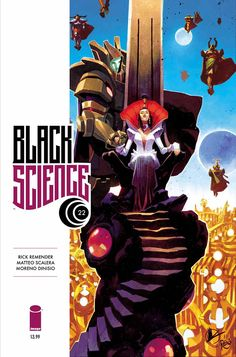BLACK SCIENCE #22  by  Matteo Scalera