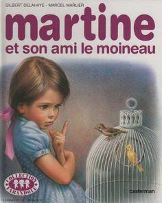 Martine et son ami le moineau