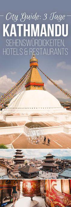Kathmandu Nepal City Guide: Alles was du für 3 Tage Kathmandu wissen musst. Mit Tipps zu Kathmandu Trekking Stores, Kathmandu Restaurants und den schönsten Kathmandu Sehenswürdigkeiten. #citytrip #kathmandu #trekking #nepal