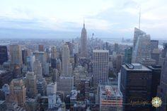 Top of the Rock - New York www.aquelelugar.com.br  #aquelelugar #newyork #empirestate