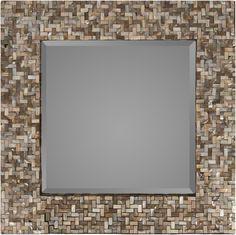 Overton Wall Mirror in Beige design by Surya