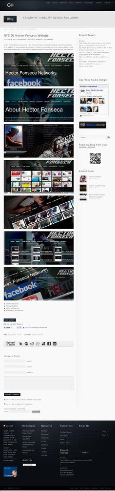 Website 'http://www.roxxstudiodesign.com/