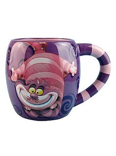 Disney Alice In Wonderland Cheshire Cat Mug,