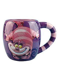 Disney Alice In Wonderland Cheshire Cat Mug,