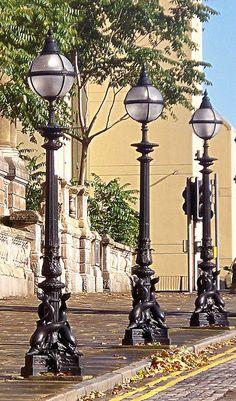 Here's some vintage lampposts in Liverpool Beauties!