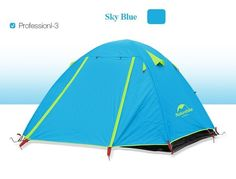 Double Layer 3-4 Person Outdoor Camping Tent