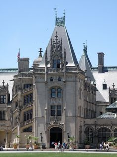 Biltmore Mansion Asheville, North Carolina....can cross this off...been there and lived in ASHEVILLE for 4 great years