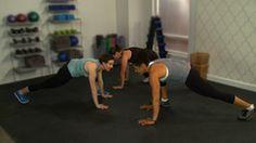 10 minute Victoria's Secret Model's Full-Body Workout - no equipment