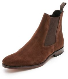 Loake 1880 Mitchum Suede Chelsea Boots on shopstyle.com