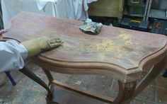 Errores al pintar mueble de madera