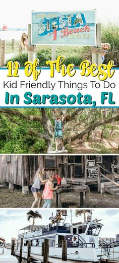 Planning a Sarasota vacation? From the award winning beachs, colorful parks and circus museums, you'll find plenty of awesome things to do in Sarasota! Clearwater Florida, Sarasota Florida, Old Florida, Florida Beaches, Kissimmee Florida, Visit Florida, Florida Vacation, Florida Travel, Travel With Kids