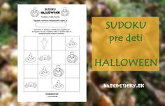 Sudoku pre deti - Halloween Halloween, Spooky Halloween