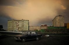 A summer night in Norilsk